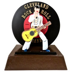 "Elvis Presley Commemorative Mechanical Bank ""Cleveland Rock and Roll"" circa 2006"