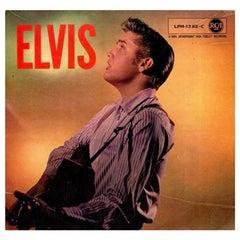 Elvis Presley Rare Twice-Signed 1950s Album Record