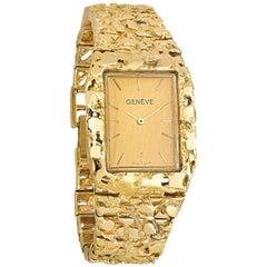 Elvis Presley's 14 Karat Gold Nugget Watch