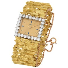 Elvis Presley's Gold and Diamond Watch