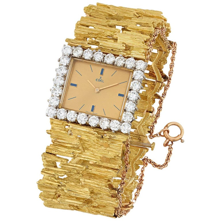 Elvis Presley's Gold and Diamond Watch For Sale