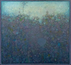 """""""Bramble,"""" Abstract Landscape Painting"""