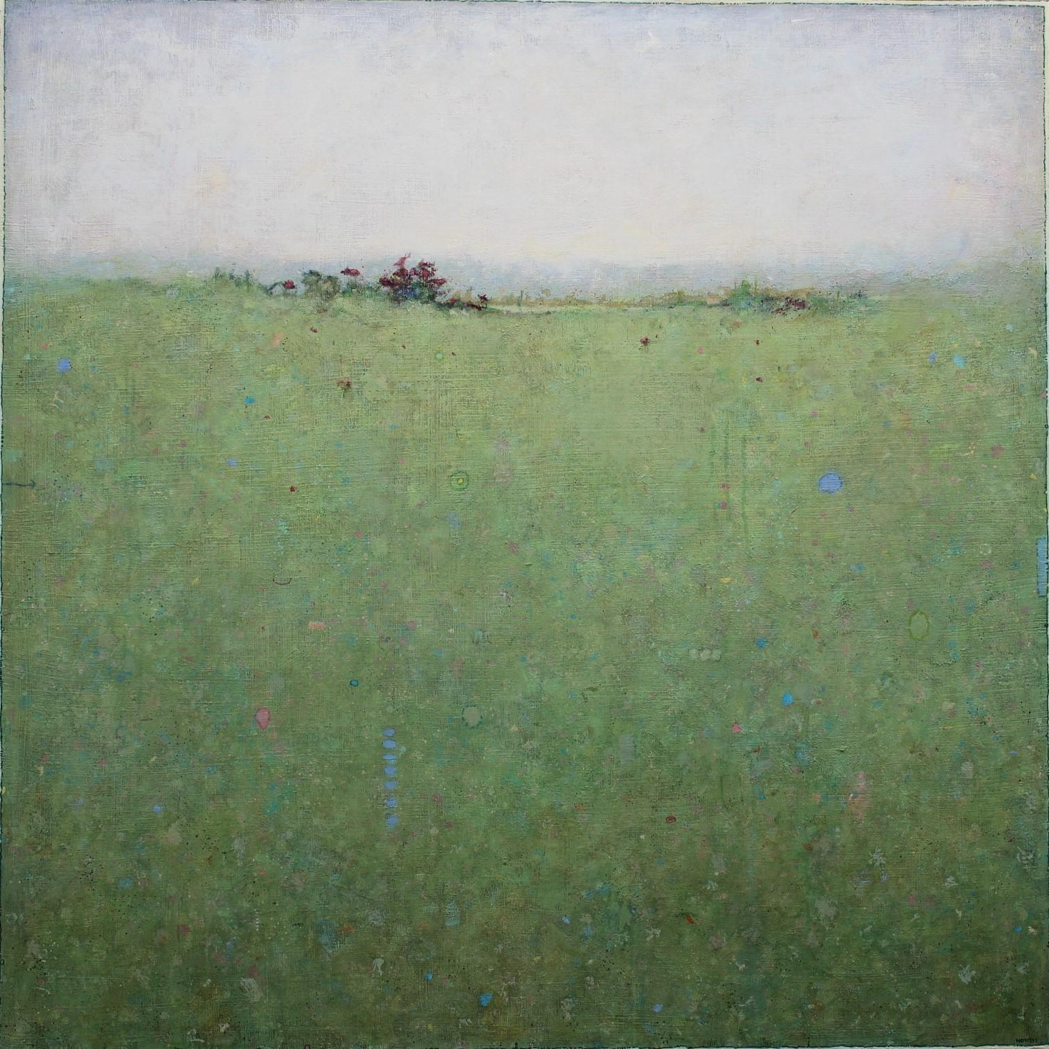 """""""Haze,"""" Abstract Landscape Painting"""