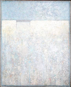 Nereides Series VII, Large Pastel Abstract Painting by Elwood Howell