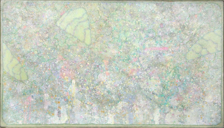Elwood Howell Abstract Painting - Pantico Series 1
