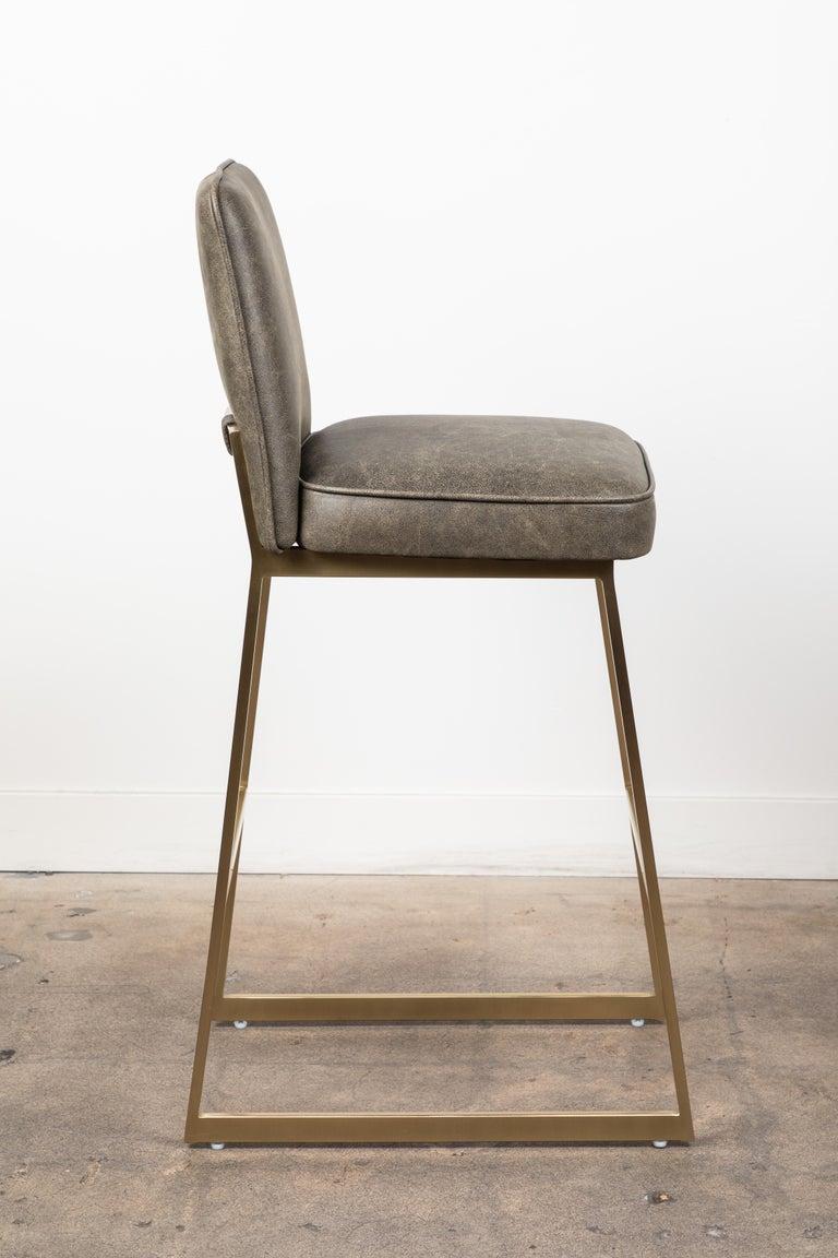 Mid-Century Modern Elysian Barstool by Lawson-Fenning For Sale
