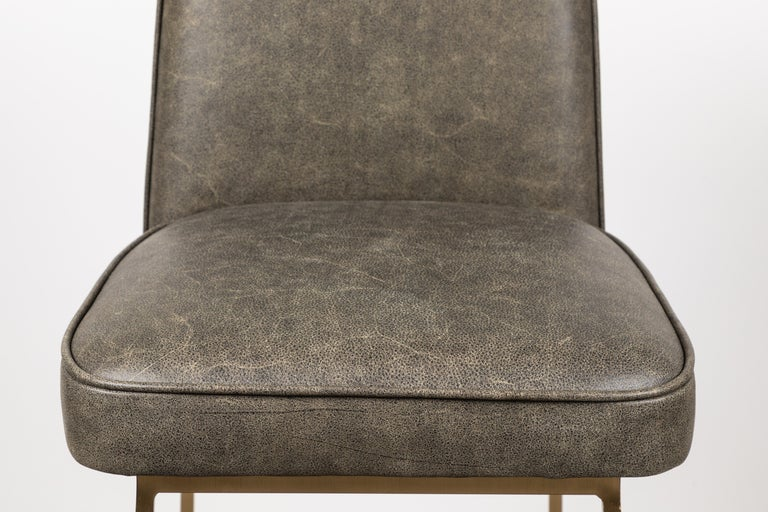 Contemporary Elysian Barstool by Lawson-Fenning For Sale