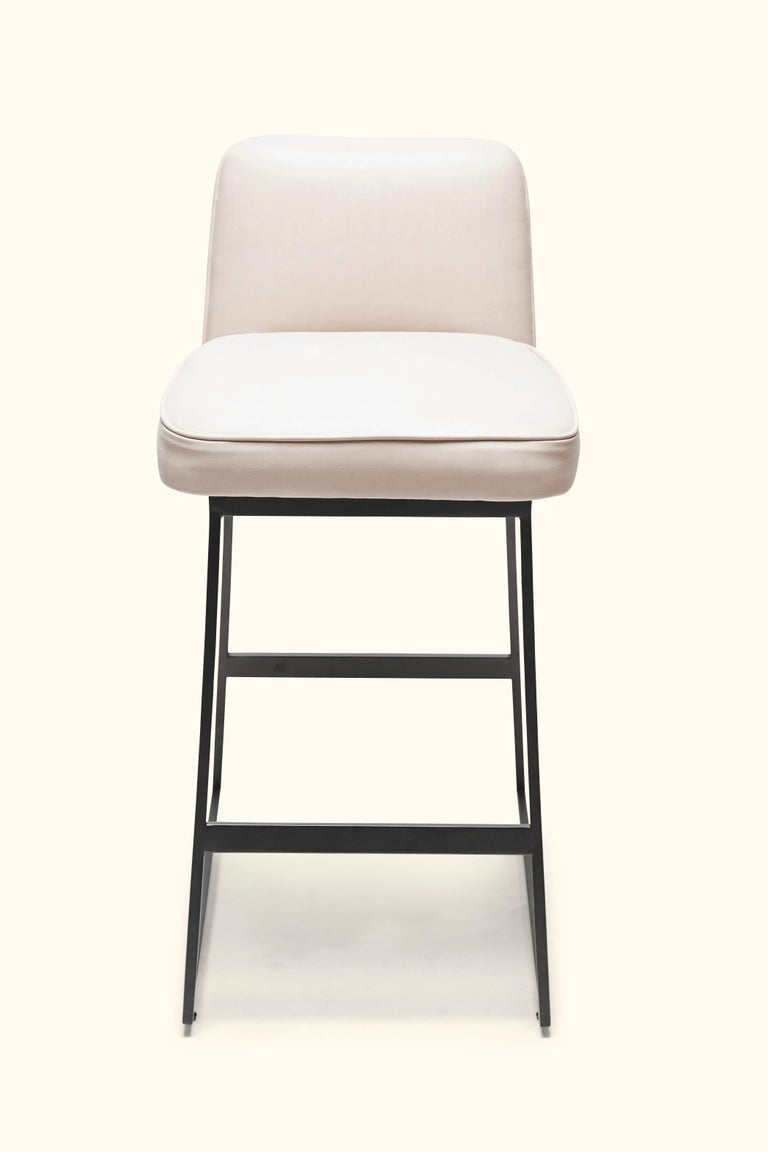 American Elysian Counter Stool, Lowback by Lawson-Fenning For Sale