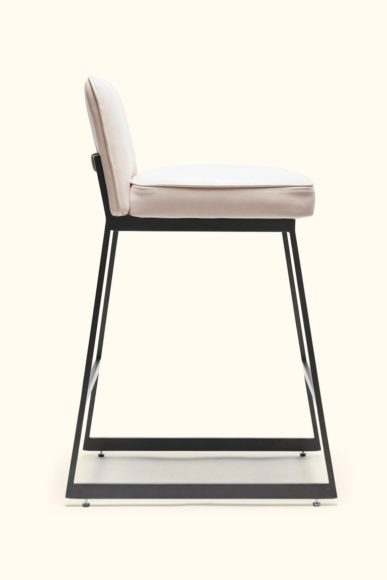 Elysian Counter Stool, Lowback by Lawson-Fenning In New Condition For Sale In Los Angeles, CA
