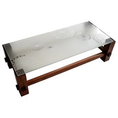 Max Ingrand Mid-Century Modern Fontana Arte Coffee Table