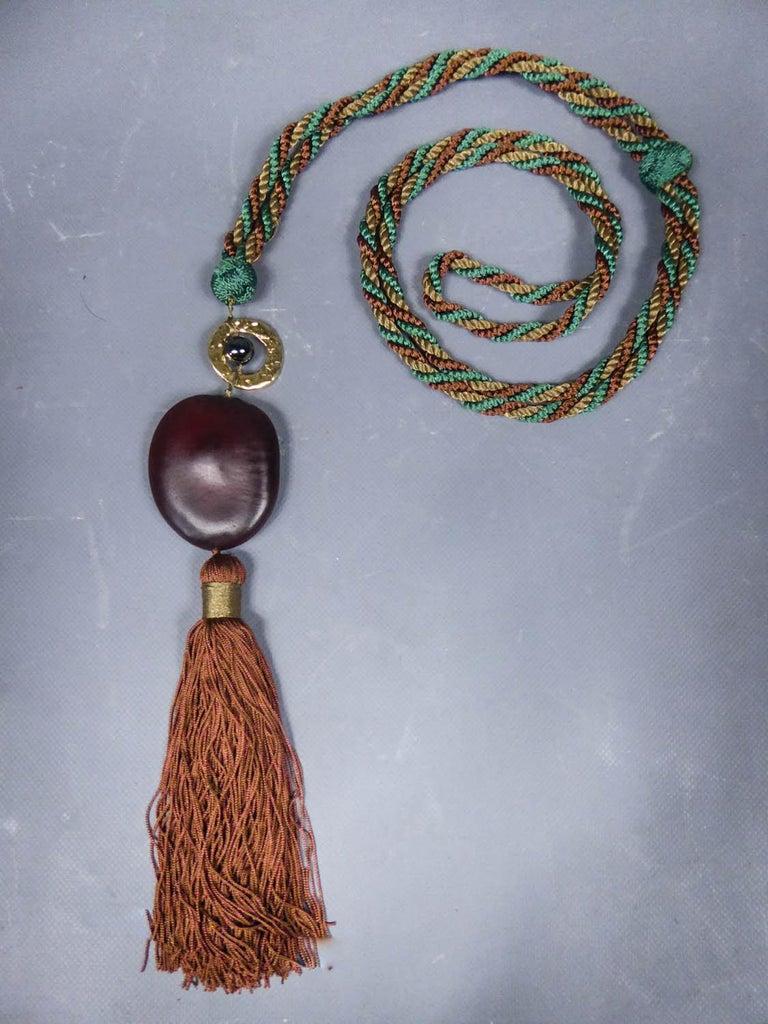 Emanuel Ungaro Braided Belt Circa 1970 For Sale 9