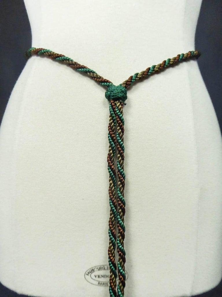 Emanuel Ungaro Braided Belt Circa 1970 For Sale 3