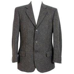 Emanuel Ungaro Brown Wool Classic Jacket