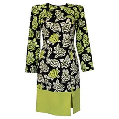 Emanuel Ungaro Floral Dress IT 40