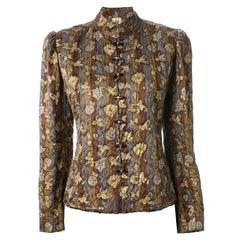 Emanuel Ungaro Parallele Paris Silk Jacket
