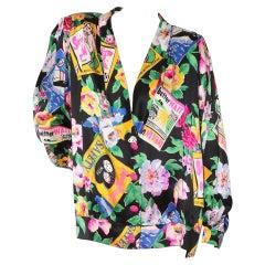 Emanuel Ungaro Print Jacket SS1992