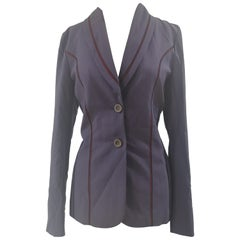 Emanuel Ungaro purple red jacket - blazer