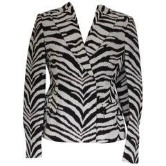 Emanuel Ungaro Zebra Jacket