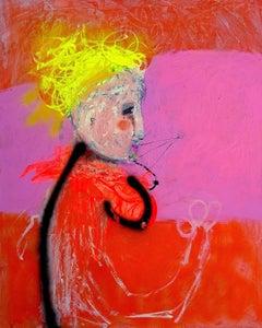 """Attimo Di Follia"" Painting 30"" x 24"" inch by Emanuele Tozzoli"
