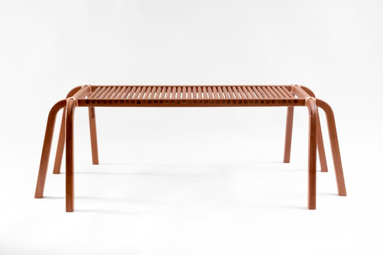 A passion for wood, symmetry and flexibility. It is impossible not to fall in love with the