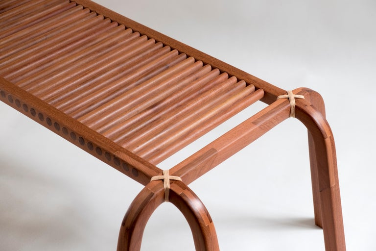 Embira Bench from Xingu Collection In New Condition For Sale In Sao Paulo, SP