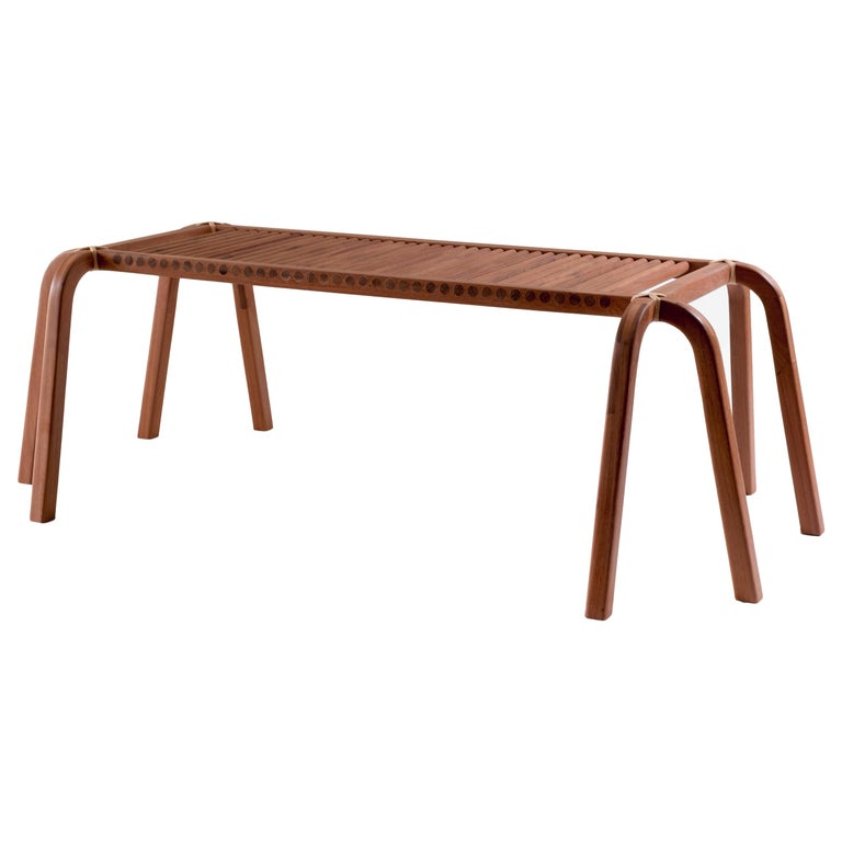 Embira Bench from Xingu Collection For Sale