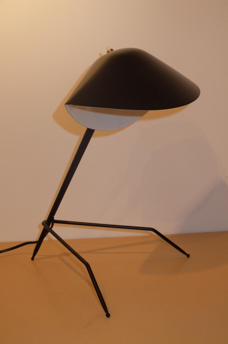The wonderful emblematic look-a-like ant lamp by Serge Mouille.