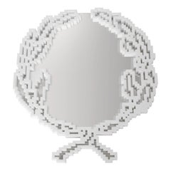 Emblema Small Wall Mirror, Limited Edition by Michele Chiossi