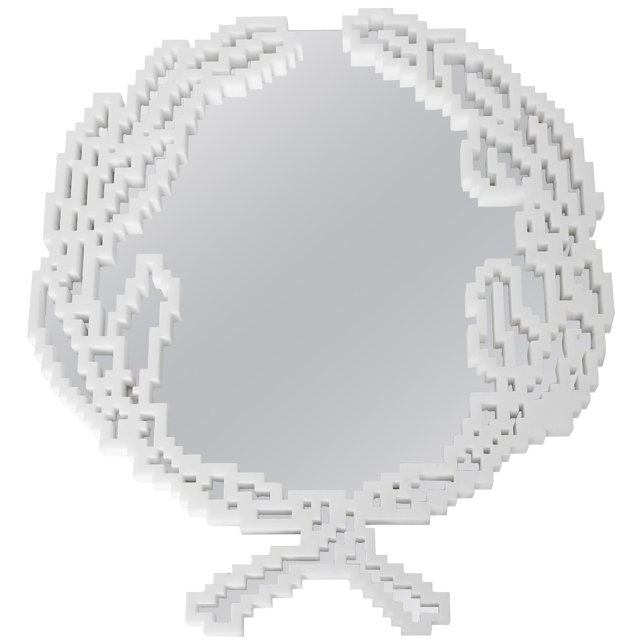 Emblema Wall Mirror, Limited Edition by Michele Chiossi