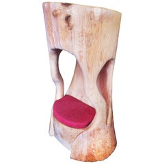 Embleme Throne Armchair in Solid Cedar Wood