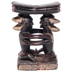"""""""Embrace"""" Luba Headrest Sculpture"""