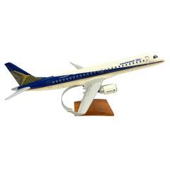 Embraer 190 Jet Airplane Aircraft Model Brazil