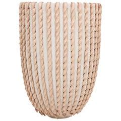 Embroidered Decorative Ceramic Vase, Gladiateur #20