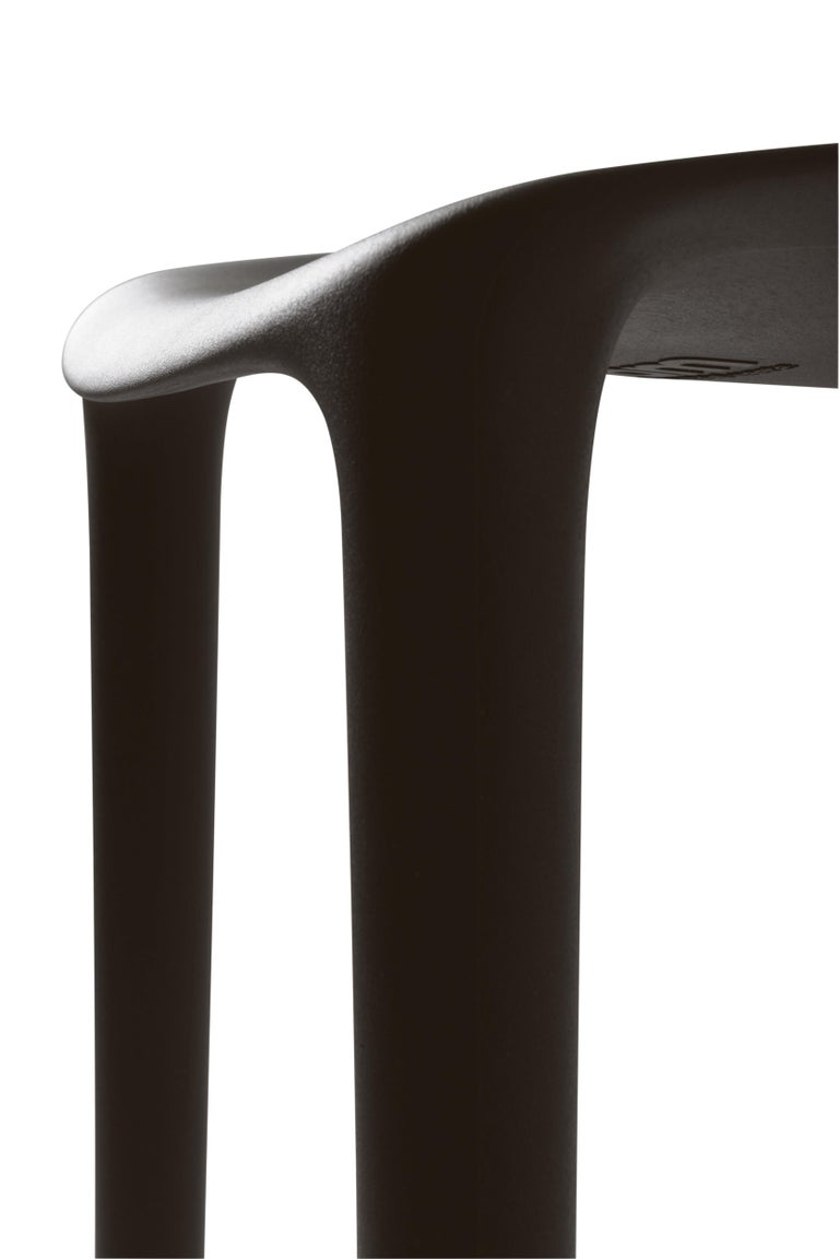 Modern Emeco Broom Counter Stool in Tan by Philippe Starck For Sale