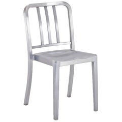 Emeco Heritage Chair in Brushed Aluminum by Philippe Starck
