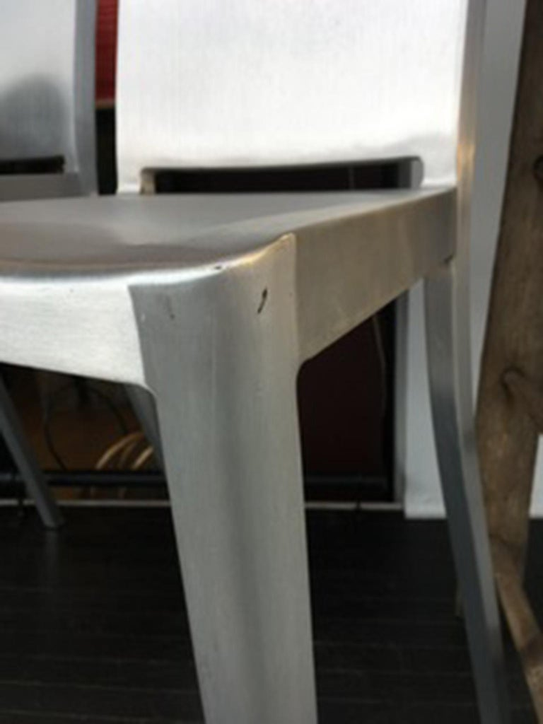Emeco Hudson Bar Stools by Philippe Starck For Sale 3