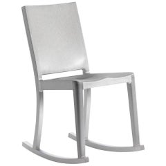 Emeco Hudson Rocking Chair in Brushed Aluminum by Philippe Starck