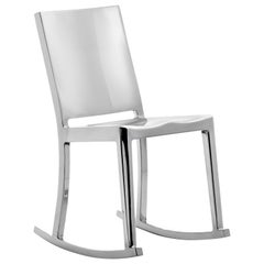 Emeco Hudson Rocking Chair in Polished Aluminum by Philippe Starck