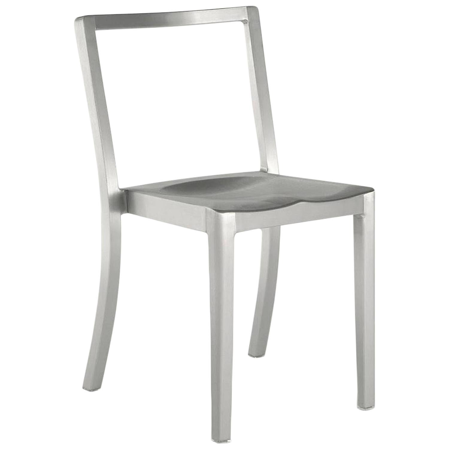 Emeco Icon Chair in Brushed Aluminum by Philippe Starck