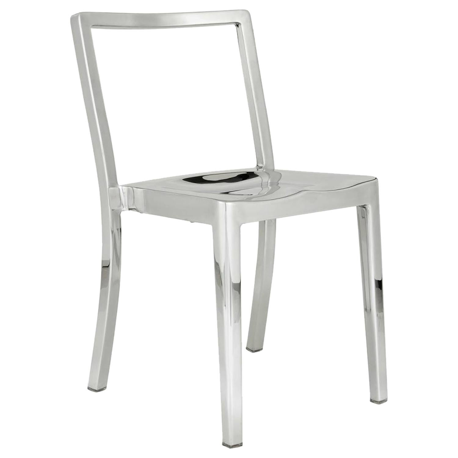 Emeco Icon Chair in Polished Aluminium by Philippe Starck