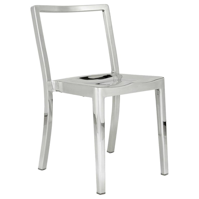 Emeco Icon Chair in Polished Aluminium by Philippe Starck For Sale
