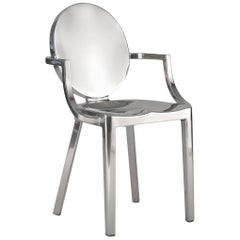 Emeco Kong Armchair in Polished Aluminum by Philippe Starck