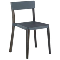 Emeco Lancaster Chair in Dark Gray Aluminum & Dark Ash by Michael Young