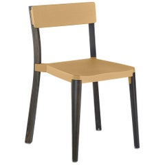 Emeco Lancaster Chair in Sand Aluminum and Dark Ash by Michael Young