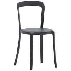 Emeco On & On Stacking Chair in Black Plastic by Barber & Osgerby