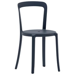 Emeco On & On Stacking Chair in Dark Blue Plastic by Barber & Osgerby
