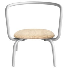 Emeco Parrish Aluminum Lounge Chair with Accoya Seat by Konstantin Grcic
