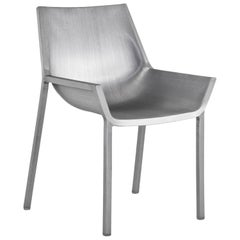 Emeco Sezz Side Chair in Brushed Aluminum by Christophe Pillet