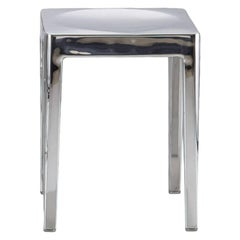 Emeco Stool in Polished Aluminum by Philippe Starck