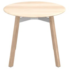 Emeco Su Round Low Table with Oak Frame & Accoya Wood Top by Nendo